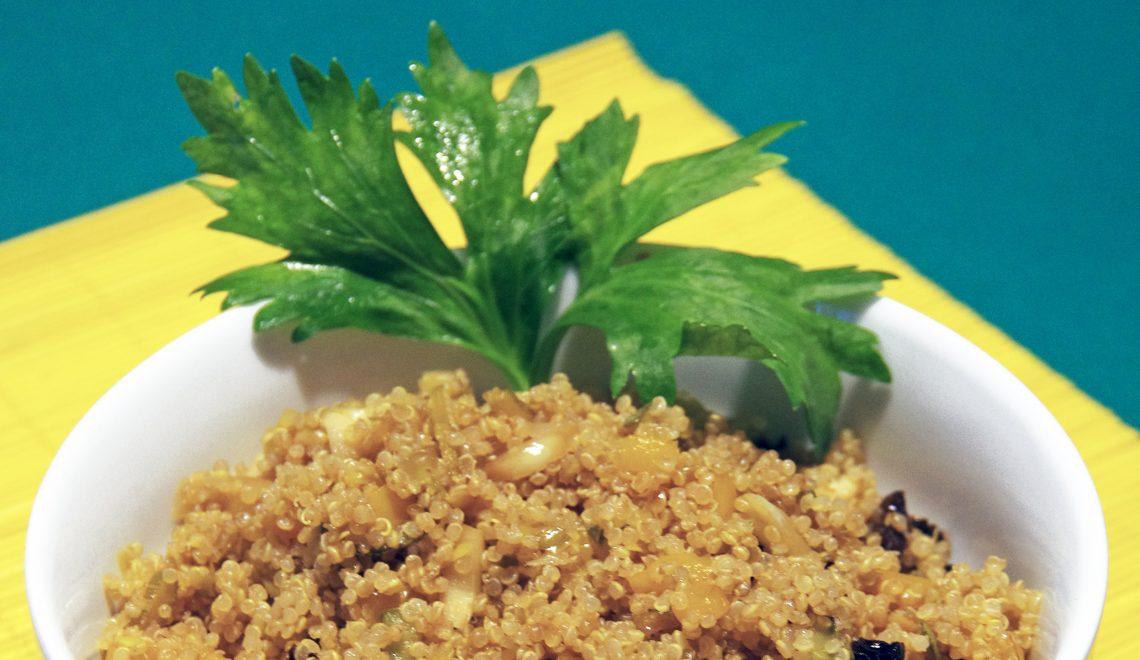Quinoa alle verdure speziate