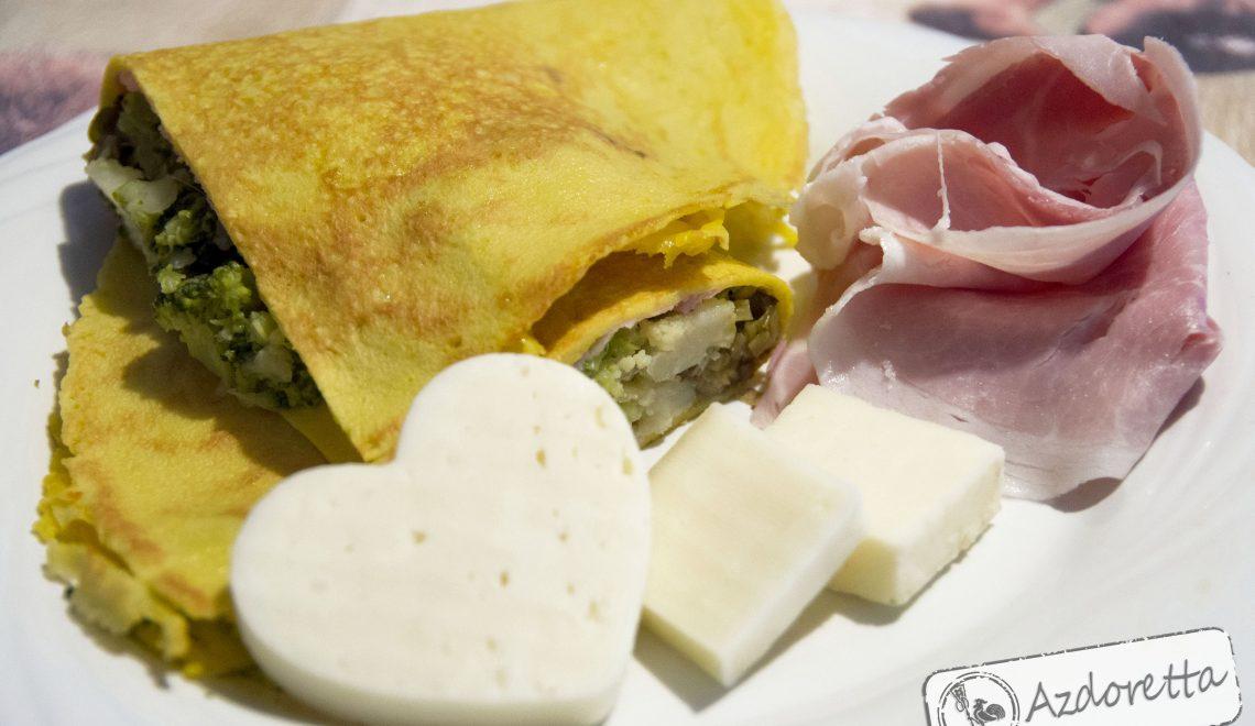Crêpes ricetta base con latte di avena e farina di kamut