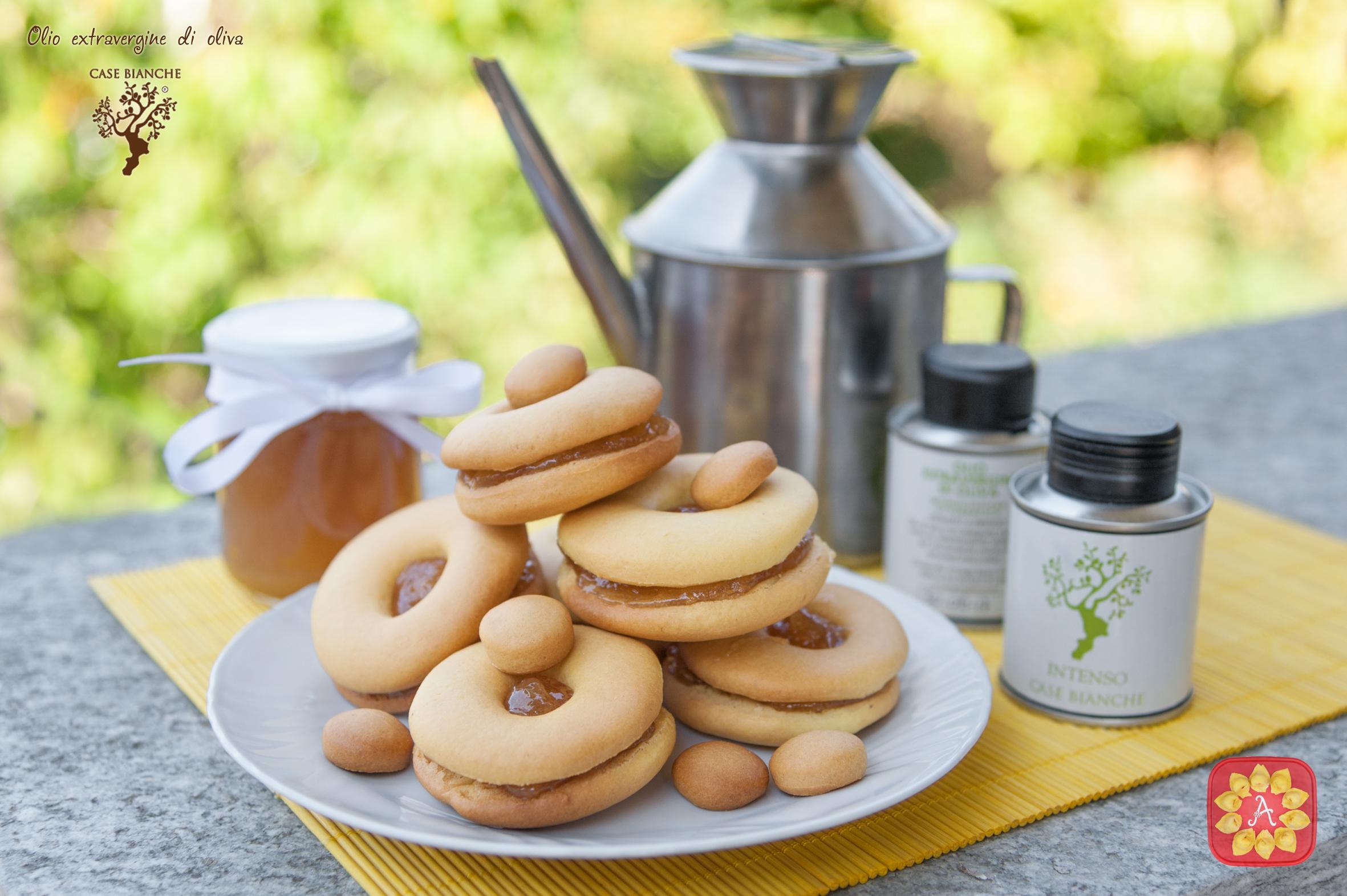 Biscotti a base di olio di oliva
