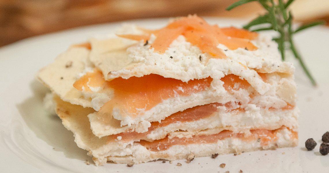 Lasagne salmone ricotta