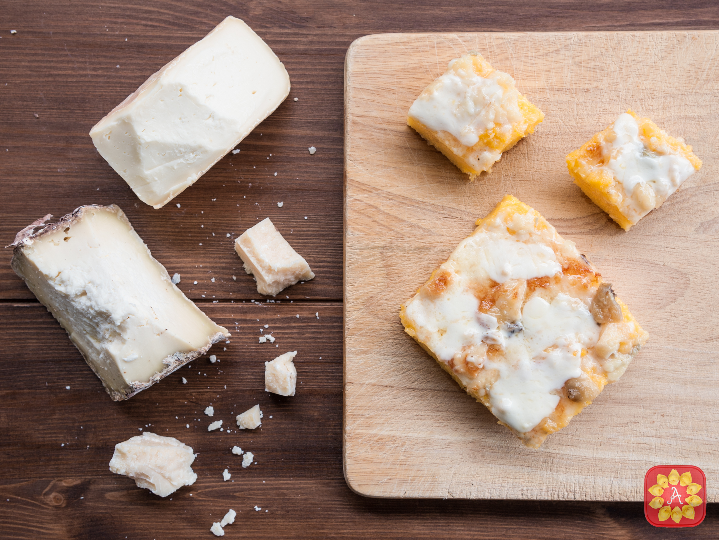 Polenta gratinata formaggi