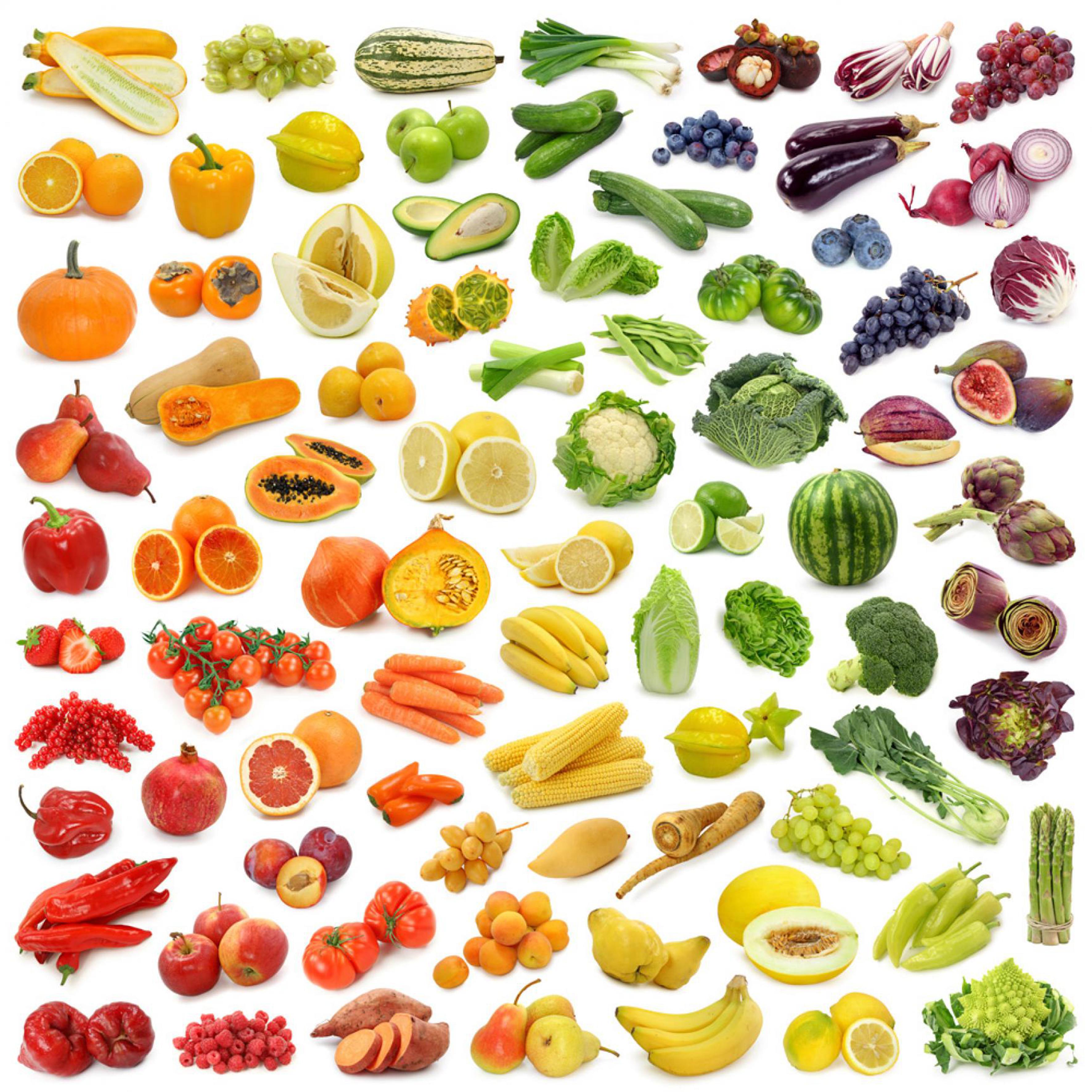 Frutta e verdura di stagione consigli per ogni mese - Immagine di frutta e verdura ...