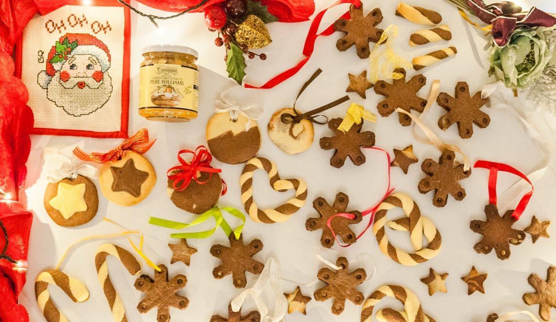Biscotti di frolla bicolore – Lebkuchen all'italiana