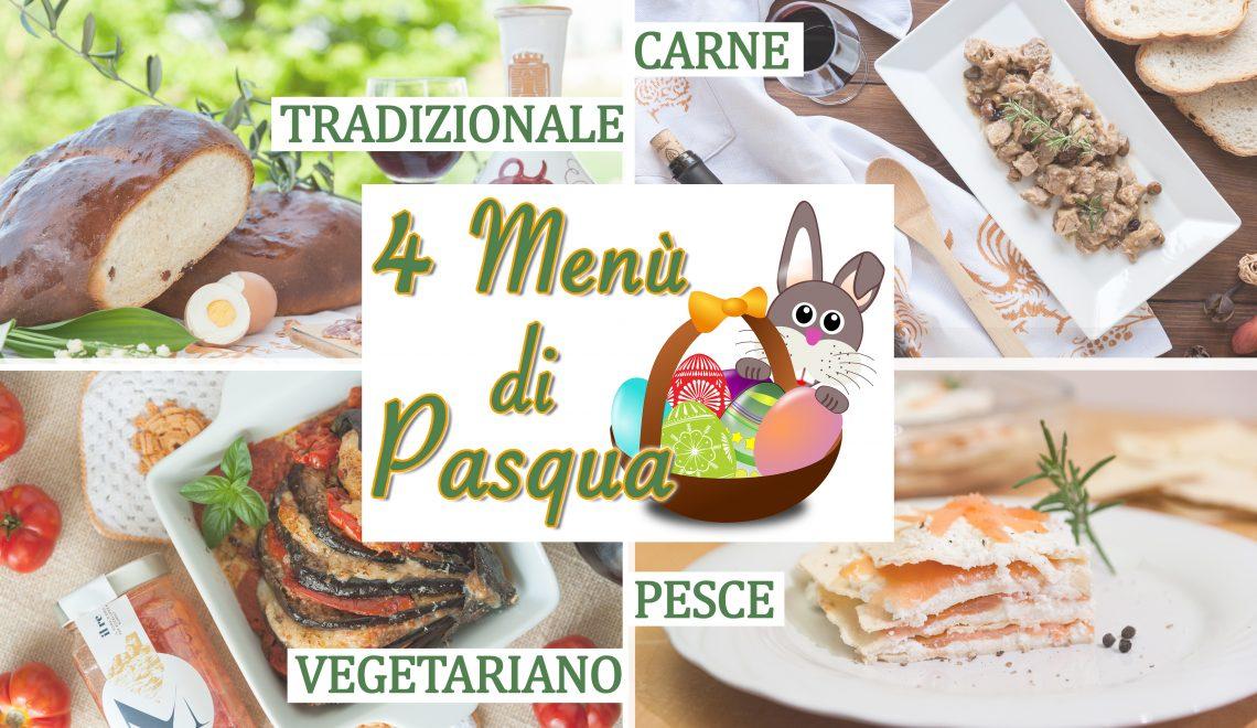 4 Menù di Pasqua semplici - Easter Collection