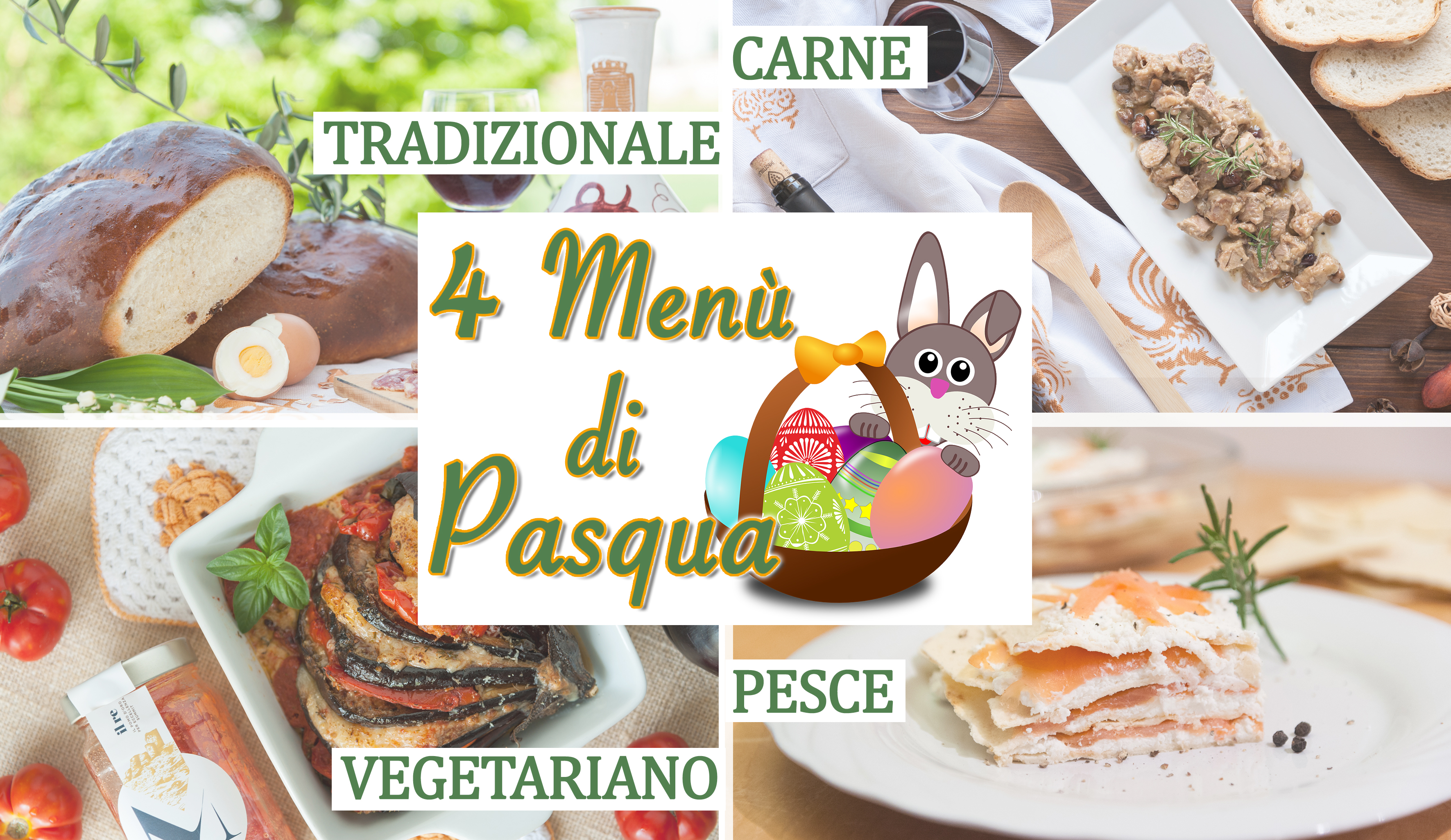 4 Menù di Pasqua semplici - Easter Collection