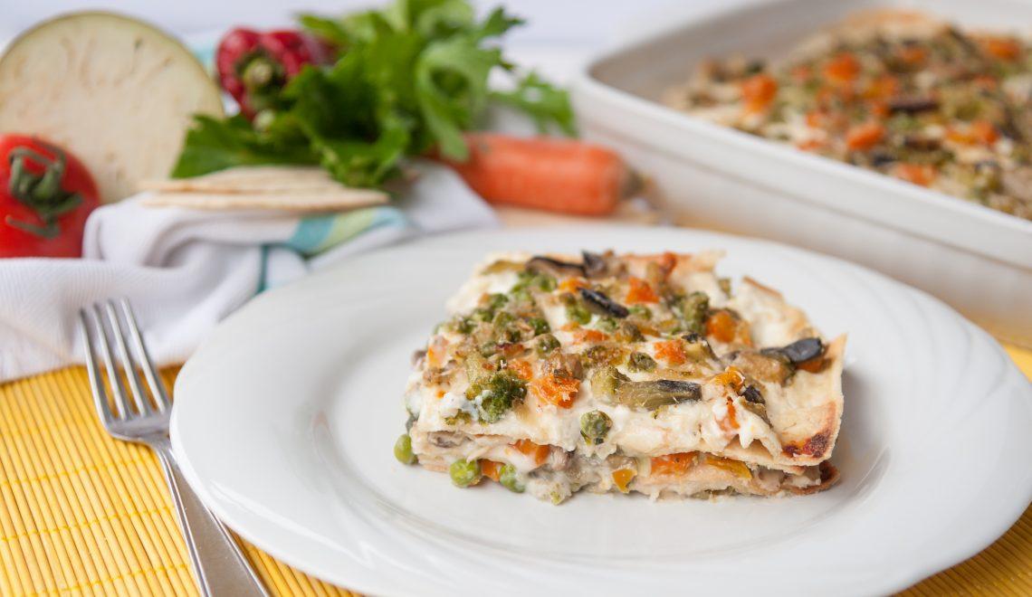 Lasagne veloci alle verdure * Ricetta vegetariana *