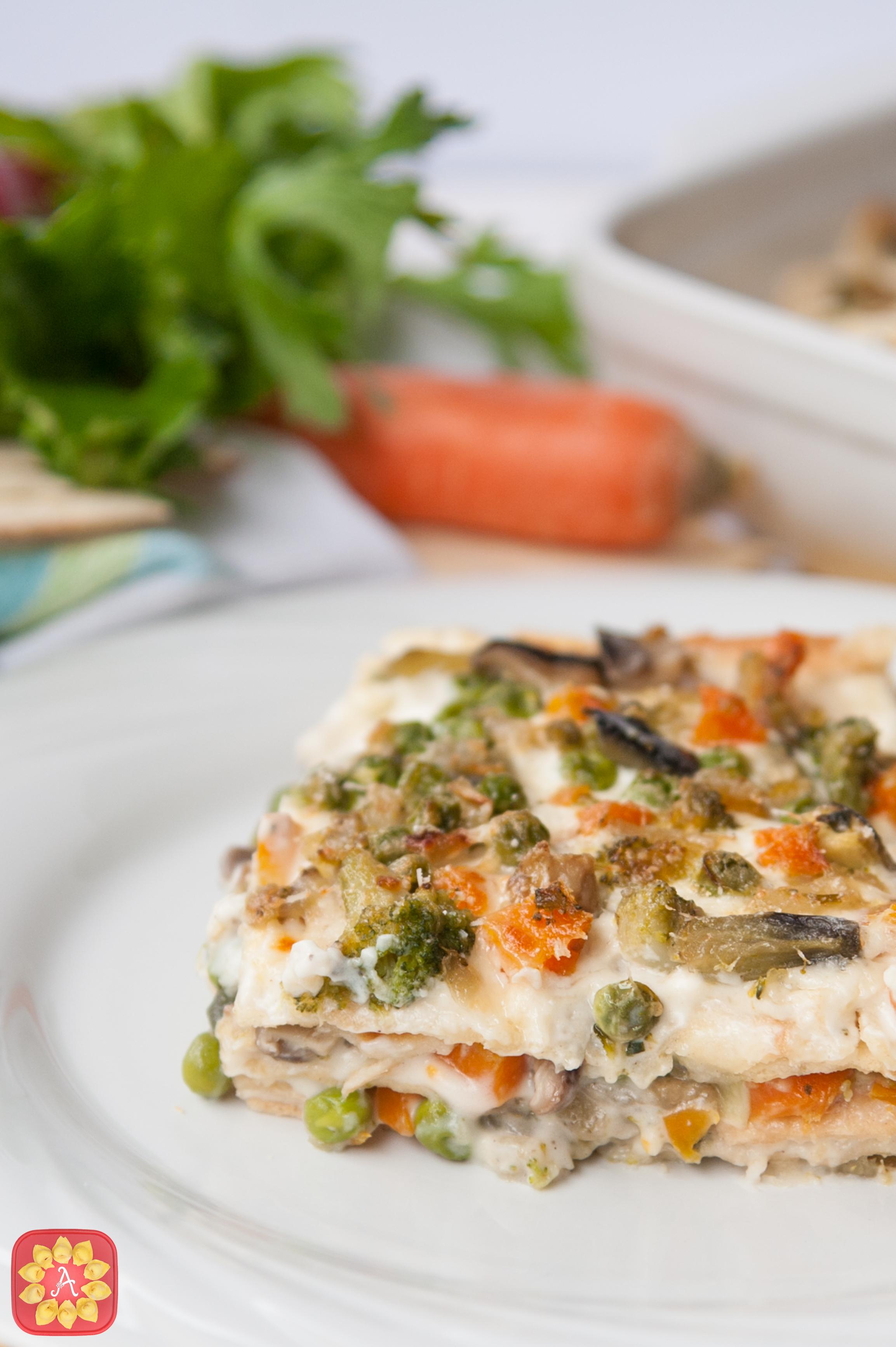 Lasagne veloci alle verdure